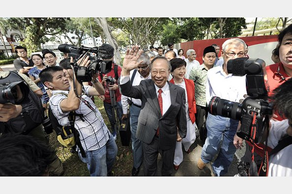 A big welcome to Tan Cheng Bock, winner of the 2011 Presidential Elections. Photo Credits: Google
