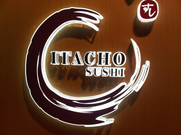 Itacho Japanese restaurant serves excellent sushi and sashimi.